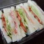 手作りサンドイッチ②